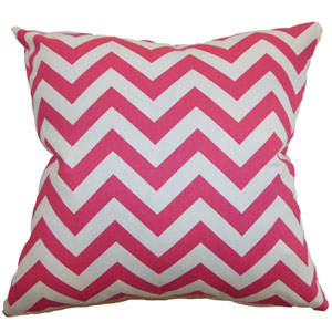 Xayabury Zigzag Pillow Candy Pink