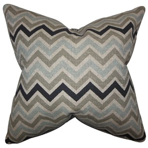 Howel Gray 18 x 18 Zigzag Throw Pillow