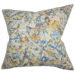 Geneen Multicolor 18 x 18 Geometric Throw Pillow
