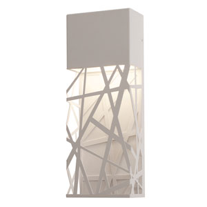 Boon White 16-Inch LED ADA Compliant Outdoor Wall Sconce