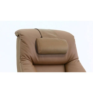 Cervical Pillow in Sand Top Grain Leather
