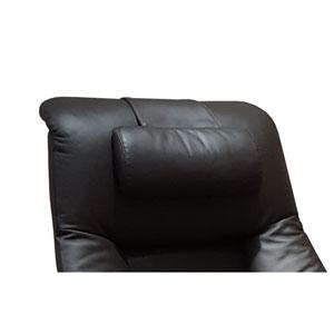 Cervical Pillow in Espresso Top Grain Leather