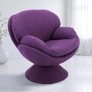 Pub Leisure Purple Accent Chair