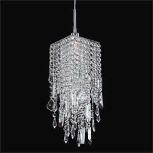 Cityscape Crystal One Light Mini Pendant