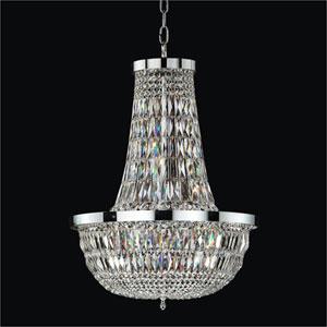 Lucia Crystal Nine Light Pendant