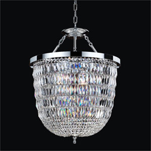 Lucia Crystal Three Light Pendant