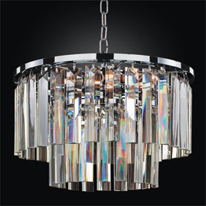 Timeless Chrome 16-Inch Chandelier