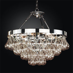 Concorde Chrome 23-Inch Chandelier