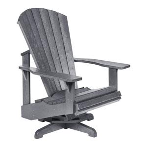 Generation Slate Grey Swivel Adirondack Chair