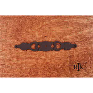 Oil Rubbed Bronze Contemporary Plate with One Hole