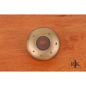 Antique English Distressed Knob Backplate