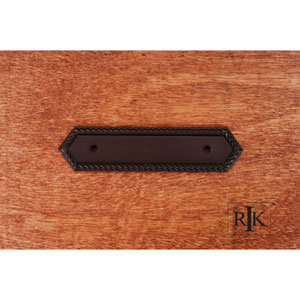 Oil Rubbed Bronze Rope Pull Backplate