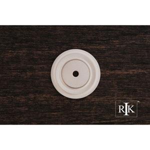 Pewter Plain Single Hole Backplate