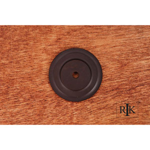 Oil Rubbed Bronze Plain Single Hole Backplate