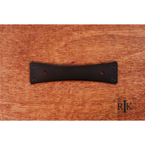 Oil Rubbed Bronze Bent Rectangle Backplate