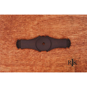 Oil Rubbed Bronze Curved Gill Ends Backplate