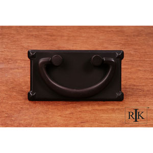 Oil Rubbed Bronze Rectangular Plated Bail Pull