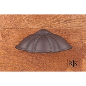 Oil Rubbed Bronze Petal Cup Pull