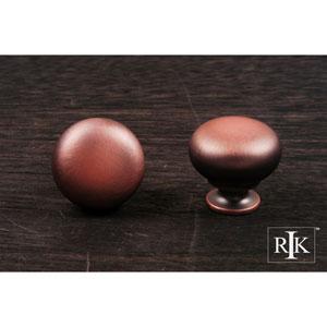 Distressed Copper Mushroom Knob