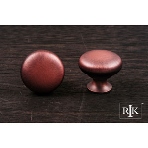 Distressed Copper Thin Mushroom Knob