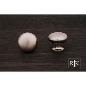 Pewter Thin Mushroom Knob