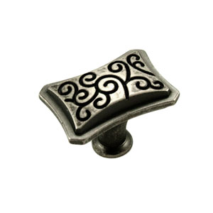 Palermo Weathered Nickel Palermo Octagon Knob
