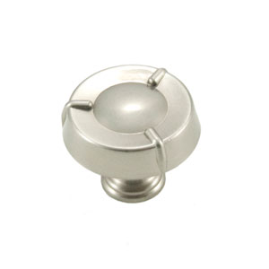 Fullerton Satin Nickel Large Fullerton Knob