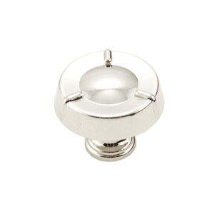 Fullerton Polished Nickel Large Fullerton Knob