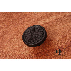 Oil Rubbed Bronze Flower Knob