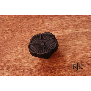 Oil Rubbed Bronze Daisy Knob
