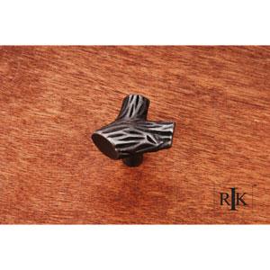 Distressed Nickel Branch Knob