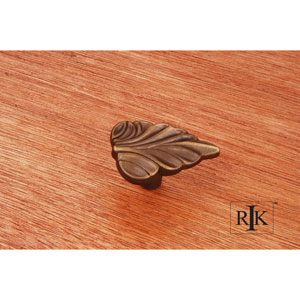 Antique English Leaf Knob