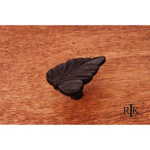 Oil Rubbed Bronze Leaf Knob