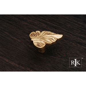 Polished Brass Leaf Knob