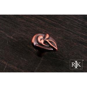 Distressed Copper Pretty Wrap Knob