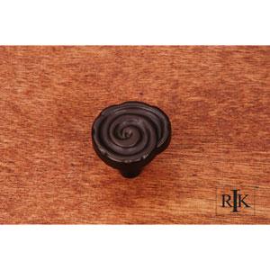 Oil Rubbed Bronze Swirl Knob