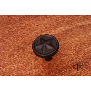 Oil Rubbed Bronze Rugged Texas Star Knob