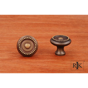 Antique English Beaded Knob with Tip