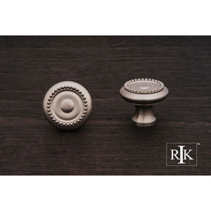 Pewter Beaded Knob with Tip