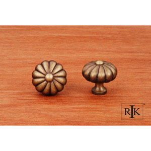 Antique English Melon Knob