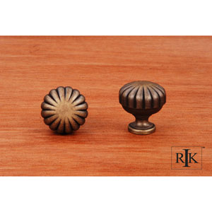 Antique English Smooth Melon Knob