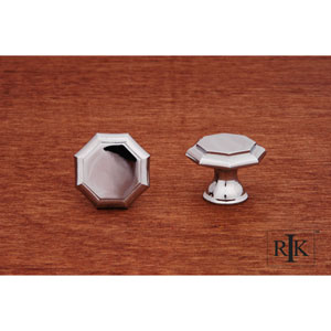 Chrome Octagonal Knob