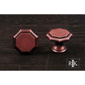 Distressed Copper Octagonal Knob