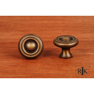 Antique English Solid Georgian Knob