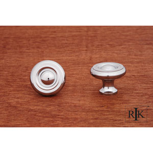 Chrome Solid Georgian Knob