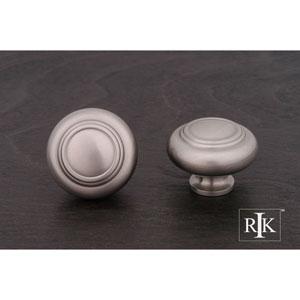 Pewter Large Double Ringed Knob