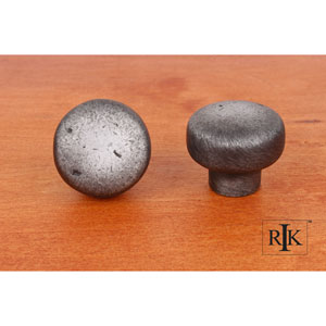 Distressed Nickel Distressed Heavy Circular Knob