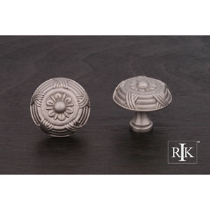 Pewter Large Crosses and Petals Knob