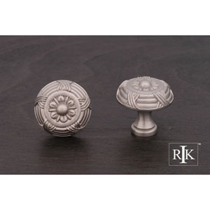 Pewter Small Crosses and Petals Knob