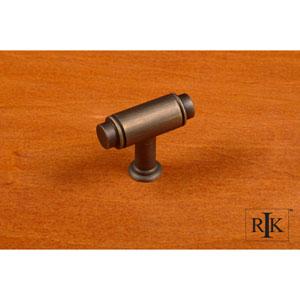 Antique English Small Cylinder Knob